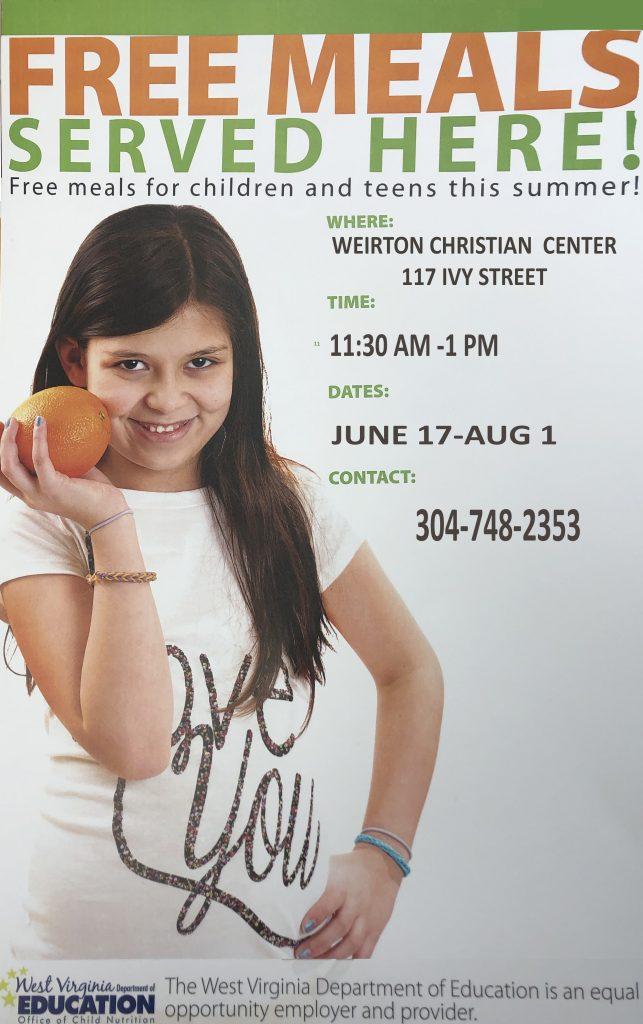 Programs - Weirton Christian Center
